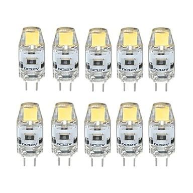 10pcs New Style COB LED G4 LED 12V Bulb 1W 80LM 2700K 6500K LED Bi