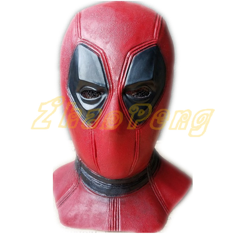 50pcs/lot Deadpool Masks Halloween X-Man Movie Masquerade Deadpool action Breathable Full Face Helmet  latex Mask Cosplay Prop 2016 movie cosplay captain america civil war helmet cosplay black panther helmet t challa helmet mask party halloween prop