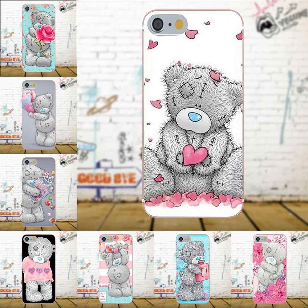 Weiche TPU Mode Fall Nette Cartoon Tatty Teddy Mir, Sie Tragen Für Galaxy A3 A5 A7 J1 J3 J5 j7 S5 S6 S7 S8 S9 rand Plus 2016 2017
