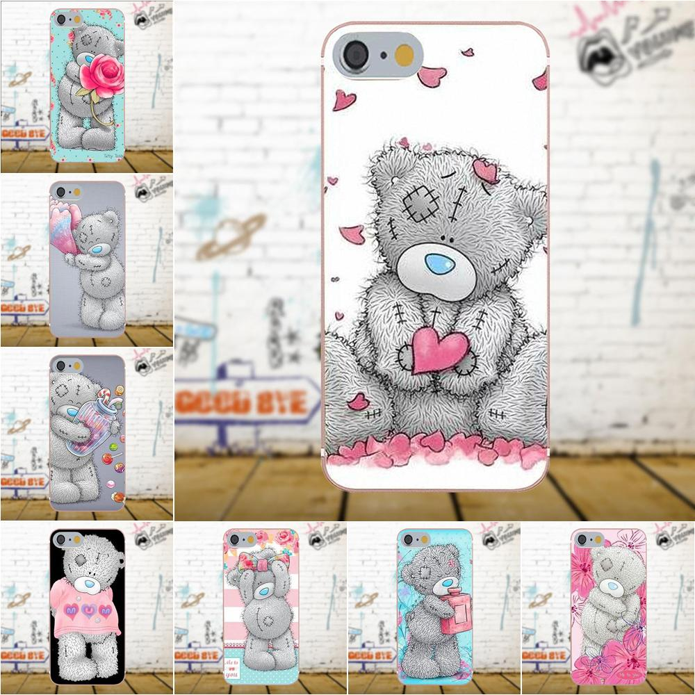 Soft TPU Fashion <font><b>Case</b></font> Cute <font><b>Cartoon</b></font> Tatty Teddy Me To You Bear For Galaxy A3 <font><b>A5</b></font> A7 J1 J3 J5 J7 S5 S6 S7 S8 S9 edge Plus <font><b>2016</b></font> 2017 image