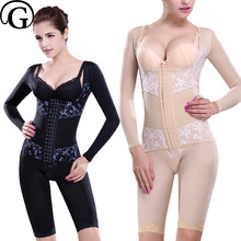 3deaaae4c3 PRAYGER Recovery Body Compression Shapewear Medical Slimming Belly Lift  Breast Shapers Control Thigh Corset