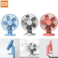 Xiaomi VH Electric Fan Mijia Portable USB Desktop Fan 3 Gears Speed Cooling Fan 2000mAh Rechargeable Battery Clamp Air Cooler