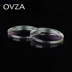 Image 4 - OVZA 1.67 Ultra ince Çizilmeye Dayanıklı Asferik Reçine Lens Artı Filmi Artı Sert Reçete Lensler Radyasyon Miyopi Gözlük