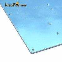 Impressora 3d mk2 cama de calor quente placa aquecimento alumínio 220*220*2.5mm para acessórios da impressora 3d|3d printer|printer 3d|aluminum 3d printer -