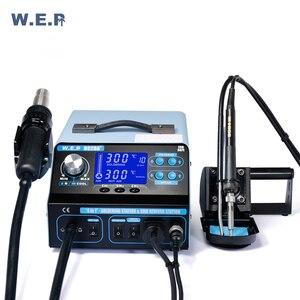 Image 3 - WEP 992DA + 780W עישון יניקה הלחמה תחנת הסרת הלחמה תחנת משאבת אוויר חם מפוח תיקון כלים ערכת Smd עיבוד חוזר תחנה
