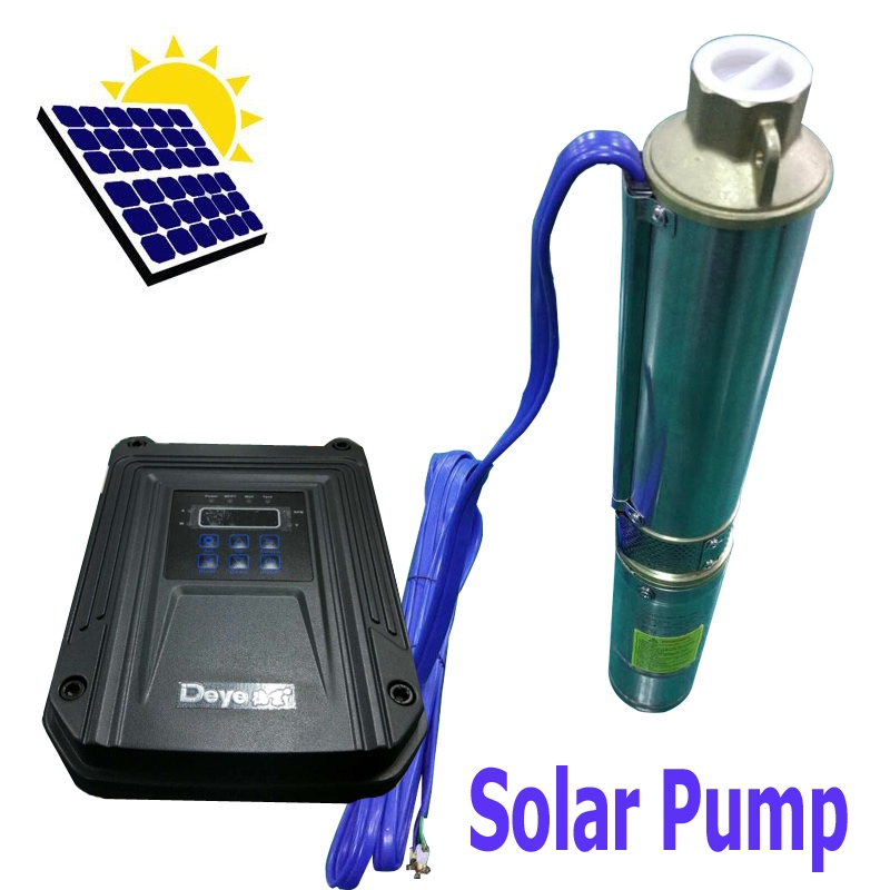 Deep Well Water Pump Submersible Stainless Steel DC 48V for Solar Panels/Battery 78M Head 5000L 22GPM Flow 6000RPM 50mm 2 inch deep well submersible water pump deep well water pump 220v screw submersible water pump for home 2 inch well pump