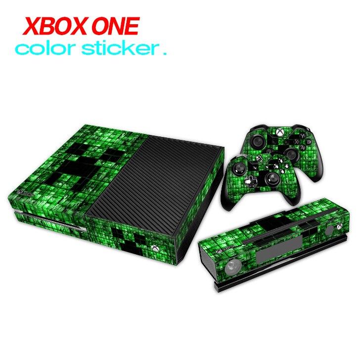 Игровые аксессуары кожи Стикеры для Microsoft Xbox одной консоли и 2 Пульты ДУ для игровых приставок и Kinect скины Наклейки для Xbox один