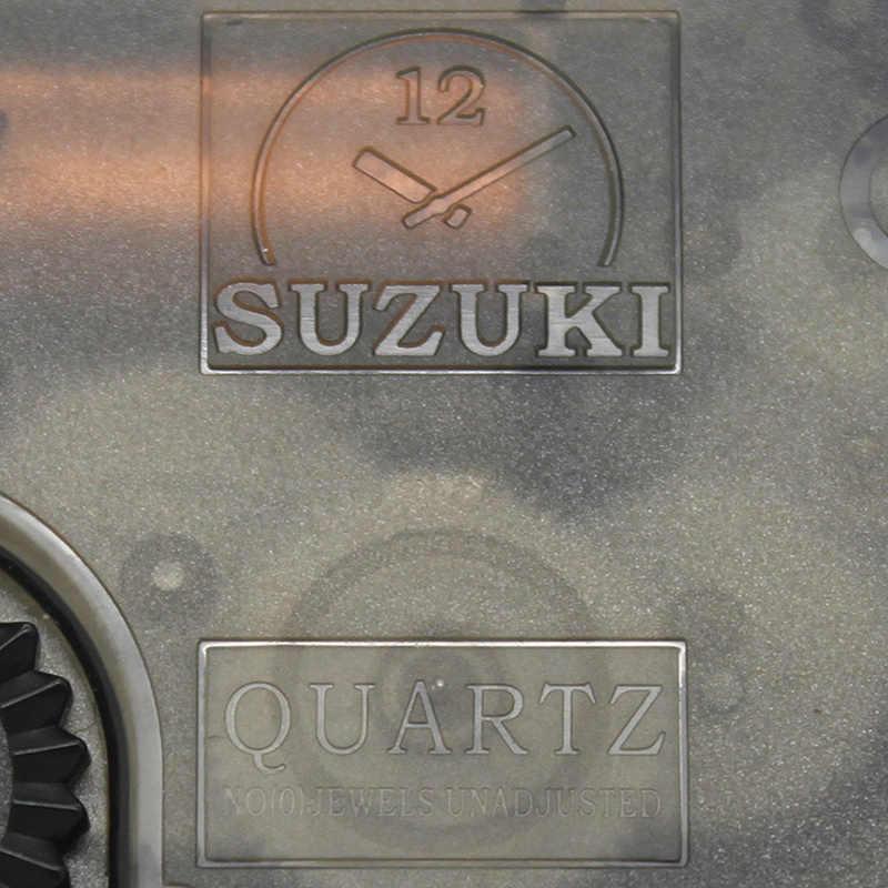 Suzuki Silent Movement пластиковые настенные часы движение черный 12 # белые руки принадлежность для часов кварцевые часы движение HS88