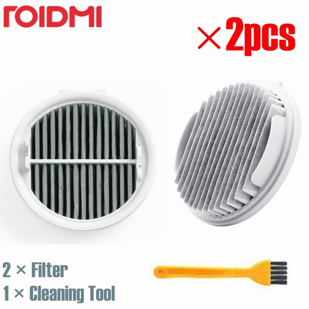 XIAOMI ROIDMI 2pcs Efficient HEPA Wireless Vacuum Cleaner Filter for XCQLX01RM Cordless Vacuum CleanerXIAOMI ROIDMI 2pcs Efficient HEPA Wireless Vacuum Cleaner Filter for XCQLX01RM Cordless Vacuum Cleaner