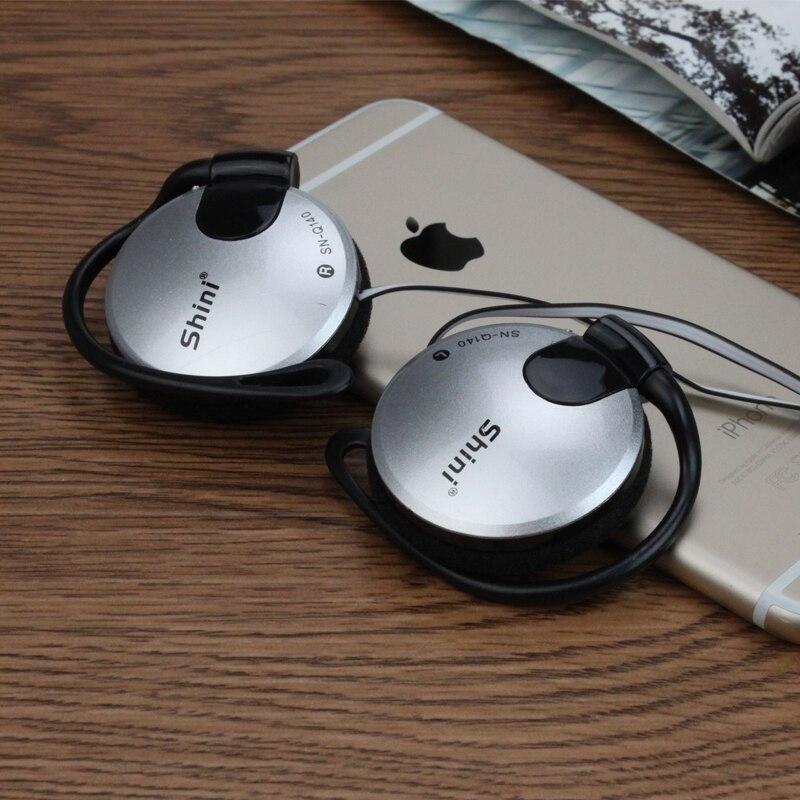 Venta caliente nueva! Shini Q140 Auriculares Estéreo EarHook - Audio y video portátil - foto 3