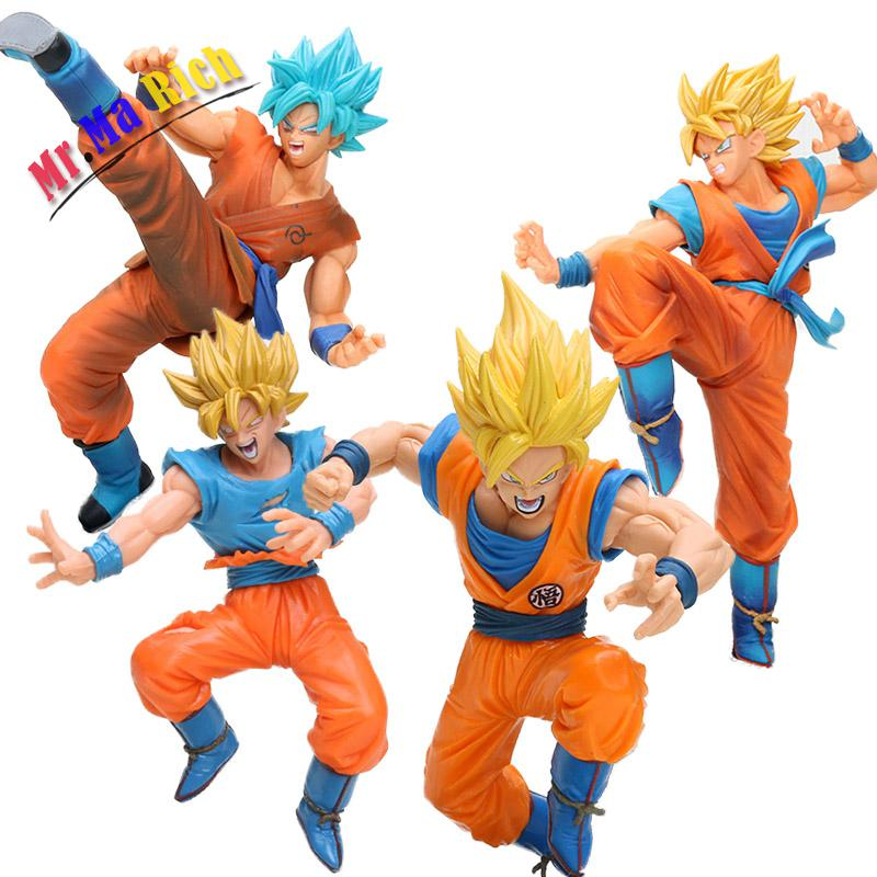 Conscientious 17-20cm Ball Fes Fighting Blue God Goku Pvc Action Figures Dbz Super Saiyan Son Goku Figure Dragonball Collection Model Toys & Hobbies