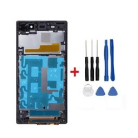 Good Quality LCD with Frame For Sony Xperia Sony Z1 L39 L39H C6902 C6903 Display+Touch Screen Digitizer Assembly+Tools