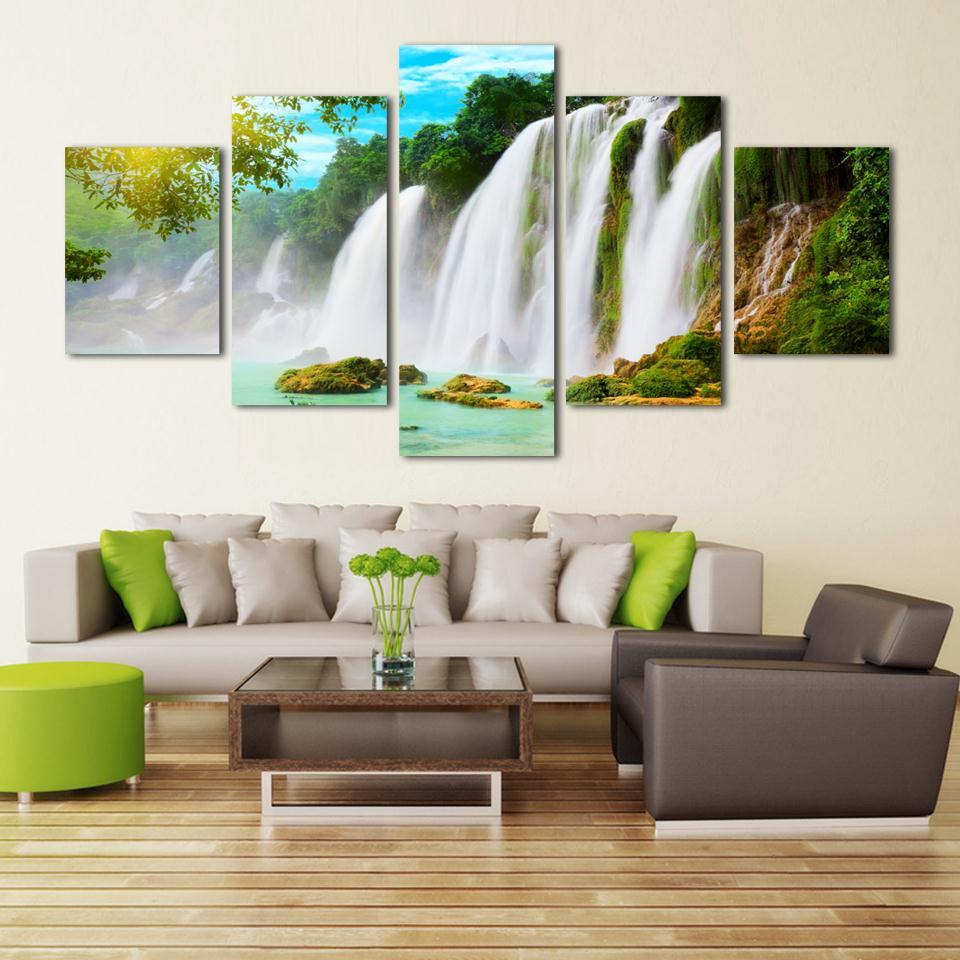 Online kopen wholesale natuur schilderijen beelden uit china ...