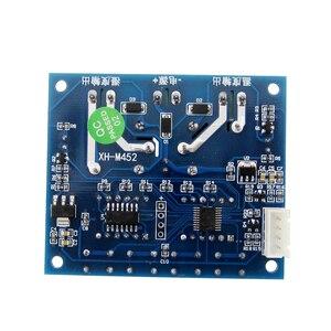 Image 3 - XH M452サーモスタット温度湿度制御温度計湿度計コントローラモジュールdc 12ボルトledデジタルディスプレイデュアル出力