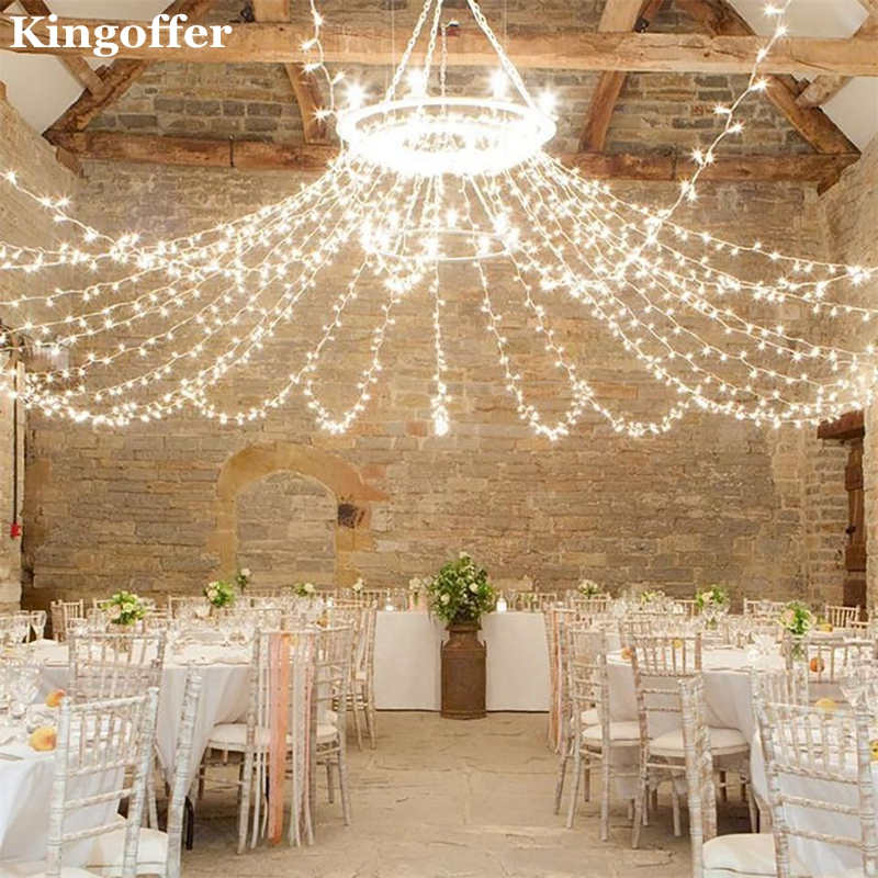 Fairy Lights Wedding Reception Ideas: Kingoffer 3Mx3M 6Mx3M Led String Light Christmas Wedding