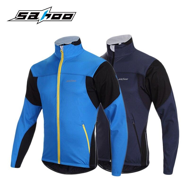 ФОТО SAHOO 2017 Autumn Winter Cycling Jackets Men Outdoor Sport Jacket Bike Bicycle Clothing Ciclismo Cazadoras Hombre Marca 2 Colors