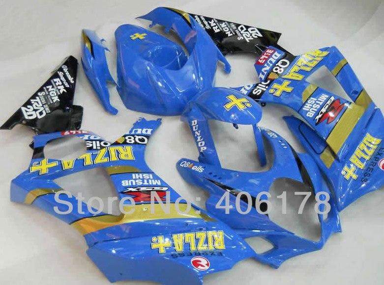 Offres spéciales, GSXR 1000 07 08 kit de carénage pour Suzuki GSX-R1000 2007 2008 kit de carénages de moto de course RIZLA (moulage par Injection)