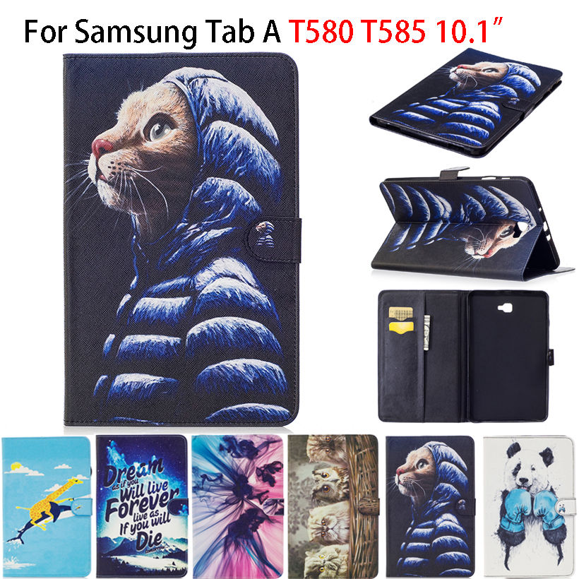 Fashion Painted Case For Samsung Galaxy Tab A A6 10.1