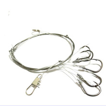 Promotion Hot Sale Lake Fishing Lures Pesca Fishing Tackle Hooks String Lures Baits Single Combination Free Shipping