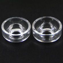 High Quality Universal Quartz Dish 22mm 25mm for Titanium Hybrid Nails Highly Educated Dishes