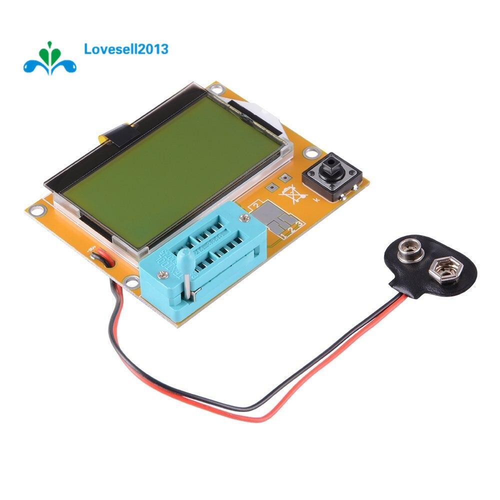 Electronics Tester Parts : Lcr t mega m multimeter lcd backlight transistor