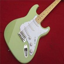 Электрогитара Оптовая Продажа KPOLE st custom shop электрогитара/oem Цвет небесно-синий изделие Гитары/Гитары в чин реальные фото показывает