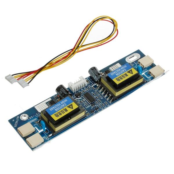 2016 Wholesale Universal CCFL Inverter LCD Laptop Monitor 4 Lamp 10-30V for 15-22