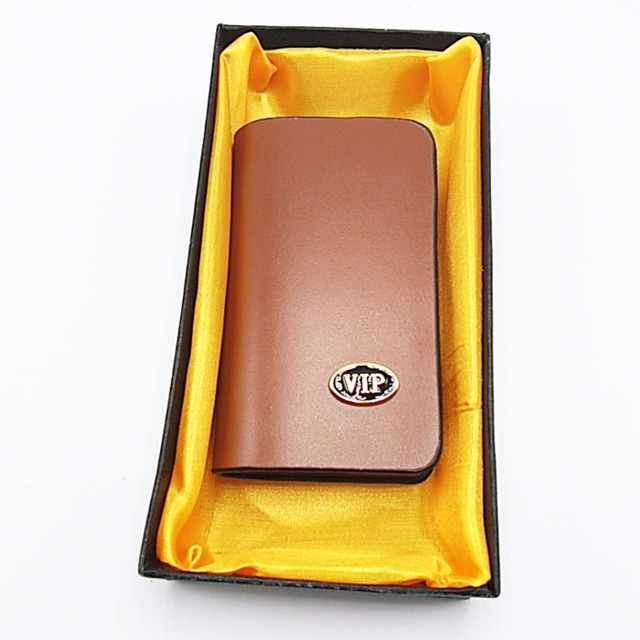 Wholesale Leather Car Key Chain Bag Auto Remote Key Case Fob for Meredes-Benz Nissan Ford Lexus Peugeot Kia Cadillac