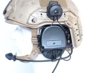 Image 4 - TAC SKY SORDIN Kask hızlı demiryolu braketi Silikon kulaklık sürüm Gürültü azaltma pikap kulaklık BK