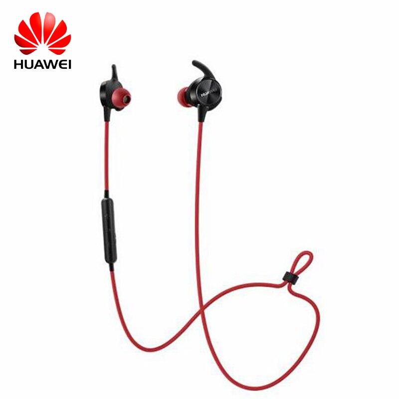 Huawei гарнитуры Bluetooth Спорт в ухо Беспроводной Беспроводные наушники с наушниками для мобильного телефона компьютерных игр Бизнес AM-R1