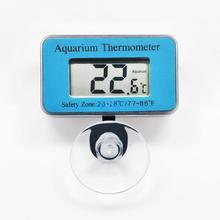цена на RINGDER AT-1 -50~70C Digital Aquarium Submersible Thermometer Fish Tank Temperature Indicator Built in NTC Sensor Wireless 4pcs