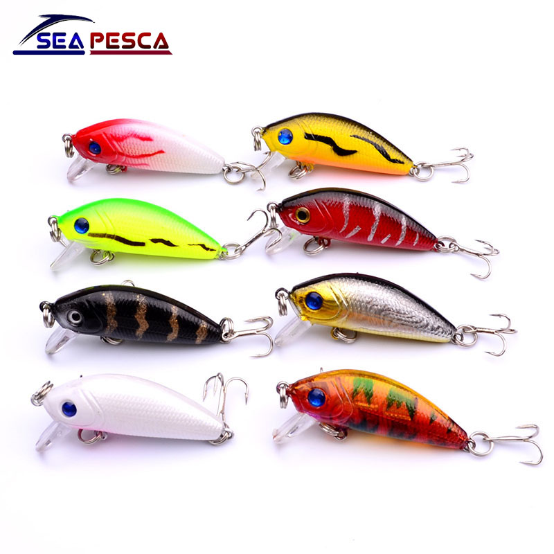 Վաճառվում է Well Mini Japan 5cm 4.5g Multi Swim Fishing Lures Artificial Hard Crank Bait topwater Wobbler Fishing Crankbait հրապուրիչ ZB204