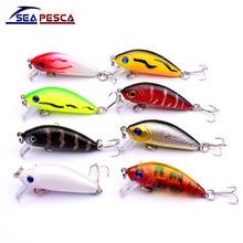 Sell Well Mini Japan 5cm 4.5g Multi Swim Fishing Lures Artificial Hard Crank Bait topwater Wobbler Fishing Crankbait lure ZB204