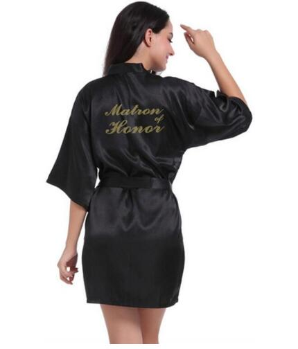 Matron of Honor bridesmaid robes personalized matching robes mother of the bride gift robe