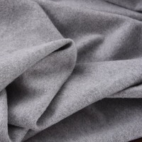 140CM Wide Gray 80% Wool 10% cashmere 10% viscose Fabric for Autumn and Spring Dress Jacket Suit Coat H130