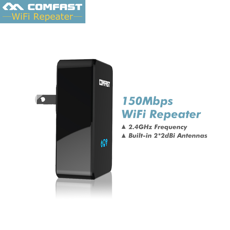 Comfast Wireless WiFi Router Repeater 150M 2.4G Wireless Range Extender WiFi Repeater ,Enhance AP Receiving wifi signal booster attractive rhinestone embellished necklace and a pair of earrings for women