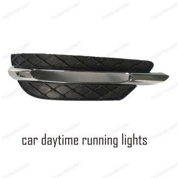 Car styling for M/ercedes B/enz C200 C260 C300 2011- 2012 Daytime running light 12V led fog lamp