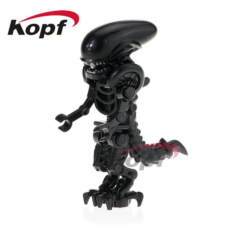 Single Sale Building Blocks Skeleton Skull Alien One-Eyed Halloween Cyclops Omino Snake Undead Figures For Children Toys PG1164