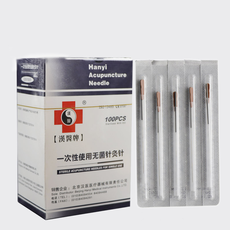 Acupuncture-Needles Guide-Tube Edged with Disposable Each One-tube/100pcs/pack title=