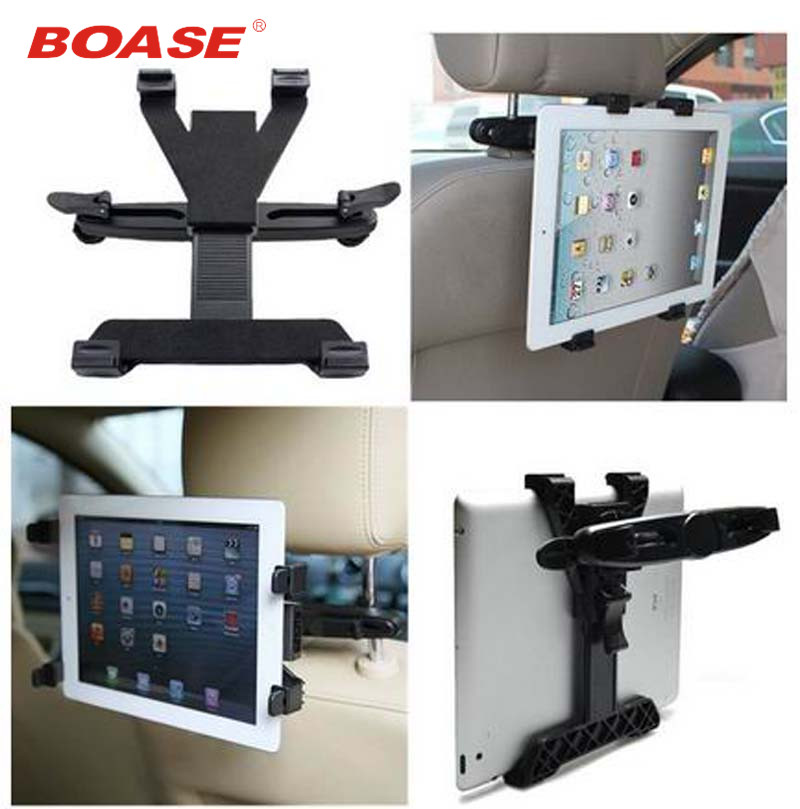 Universal Car Vehicle Seat Back Nakkestøtte Drejbar Mount Holder til IPAD / alle tablet stativ pc / GPS / TV / DVD gratis forsendelse