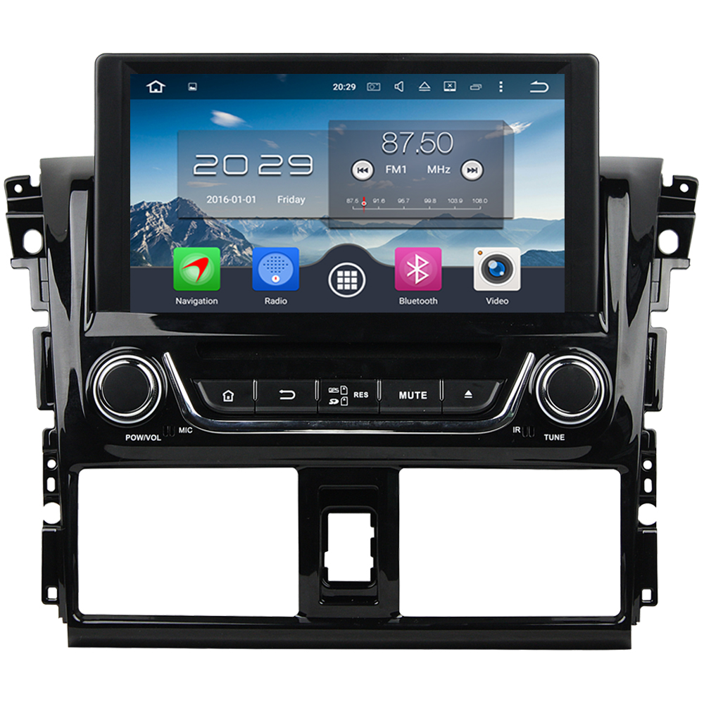 Android 6.0 WIFI 8 32GB ROM Octa Core 4GB RAM 4G Car DVD Player Stereo Radio For Toyota Yaris/Vios 2013 2014 2015 2016 2017 ownice c500 4g sim lte octa 8 core android 6 0 for kia ceed 2013 2015 car dvd player gps navi radio wifi 4g bt 2gb ram 32g rom