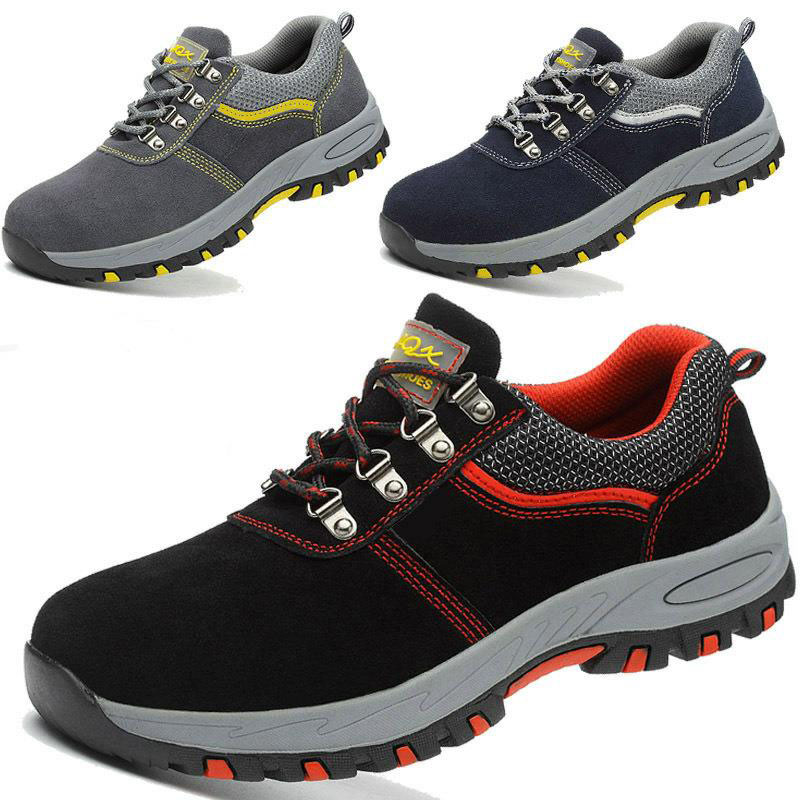 Safety Shoes Cap Steel Toe Safety Shoe Boots For Man Anti-smash Casual Work Shoes Men Size 12 Footwear Wear-resistant YXZ001Safety Shoes Cap Steel Toe Safety Shoe Boots For Man Anti-smash Casual Work Shoes Men Size 12 Footwear Wear-resistant YXZ001