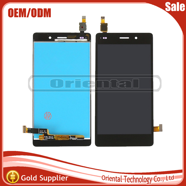 Tested For HUAWEI P8 Lite ALE-L21 LCD Display +Touch Screen Digitizer Assembly parts Black White Gold LCD Display Free Shipping