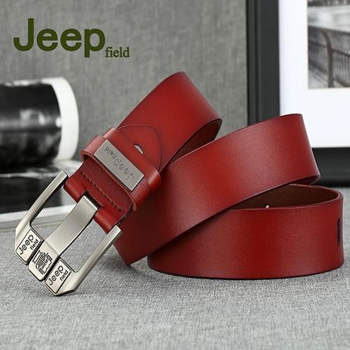 Men Belts Genuine Leather...