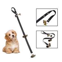 Дверной звонок для дрессировки собак, веревка, регулируемый Коммуникационный дверной звонок, колокольчик, инструмент для собак