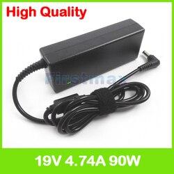 19V 4.74A 90W ładowarka do laptopa zasilanie prądem zmiennym adapter dla Asus M50 M50Q M50S M50Sa M50Sr M50Sv M50V M50VC M50VM M50VN M51 M51A M51B M51E