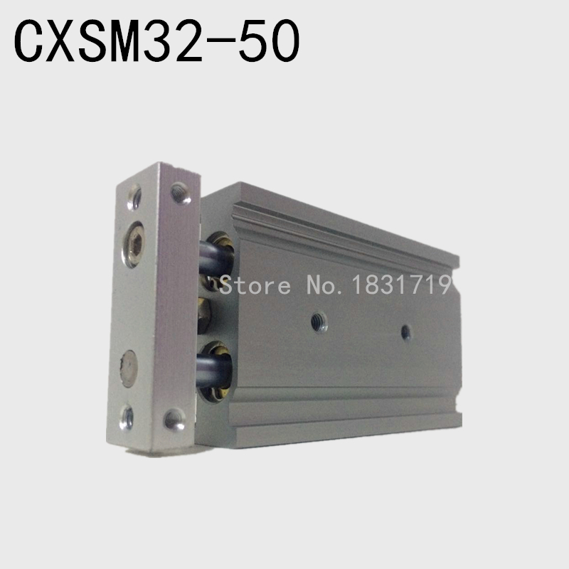 SMC type CXSM32-50 CXSM32*50 double cylinder / double shaft cylinder / double rod cylinder 32mm bore 50mm stroke smc type cxsm32 40 cxsm32 40 double cylinder double shaft cylinder double rod cylinder cxsm 32 40