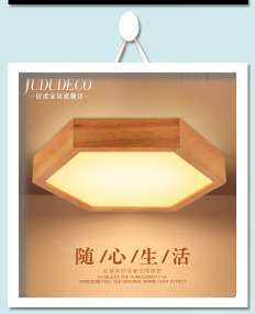 Ceiling Lights & Fans Japanese Style Delicate Crafts Wooden Frame Led Ceiling Light Luminarias Para Sala Dimming Led Ceiling Lamp Punctual Timing