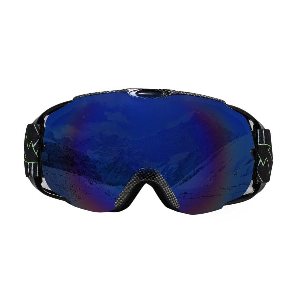 Adultes Lunettes de Ski À Double Lentille Anti-brouillard Coupe-Vent UV400 Ski Masque Lunettes de Neige Snowboard Sports de Plein Air Lunettes De Protection