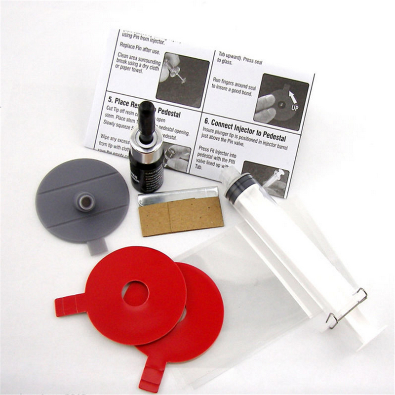 Universal Auto SUV Windscreen Glass Chip Crack Star Bullseye Repairing Tools Kit